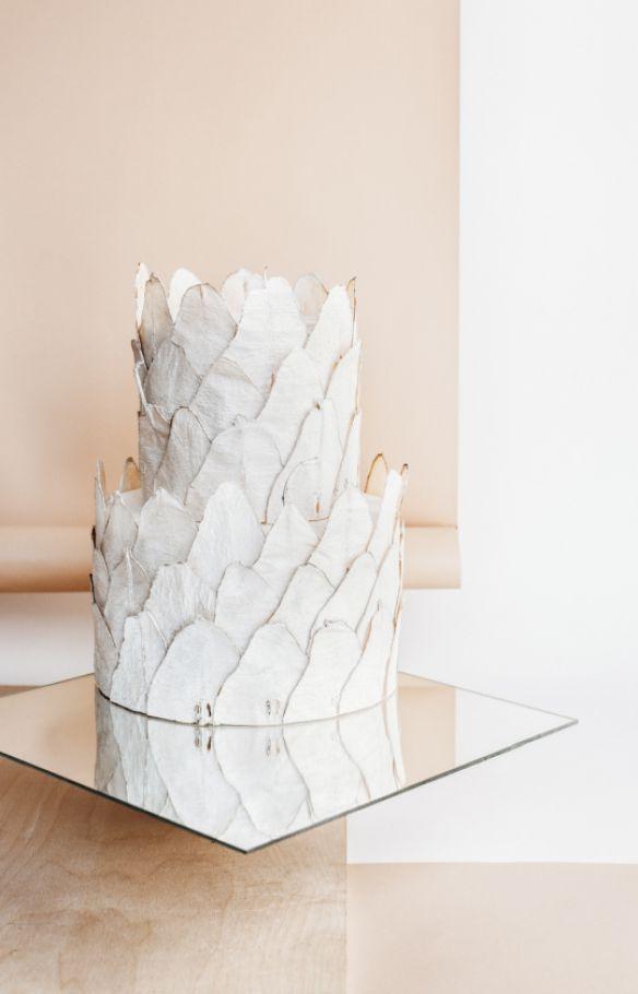Tort weselny kosz borówek Lublin, Warszawa - Pracownia
